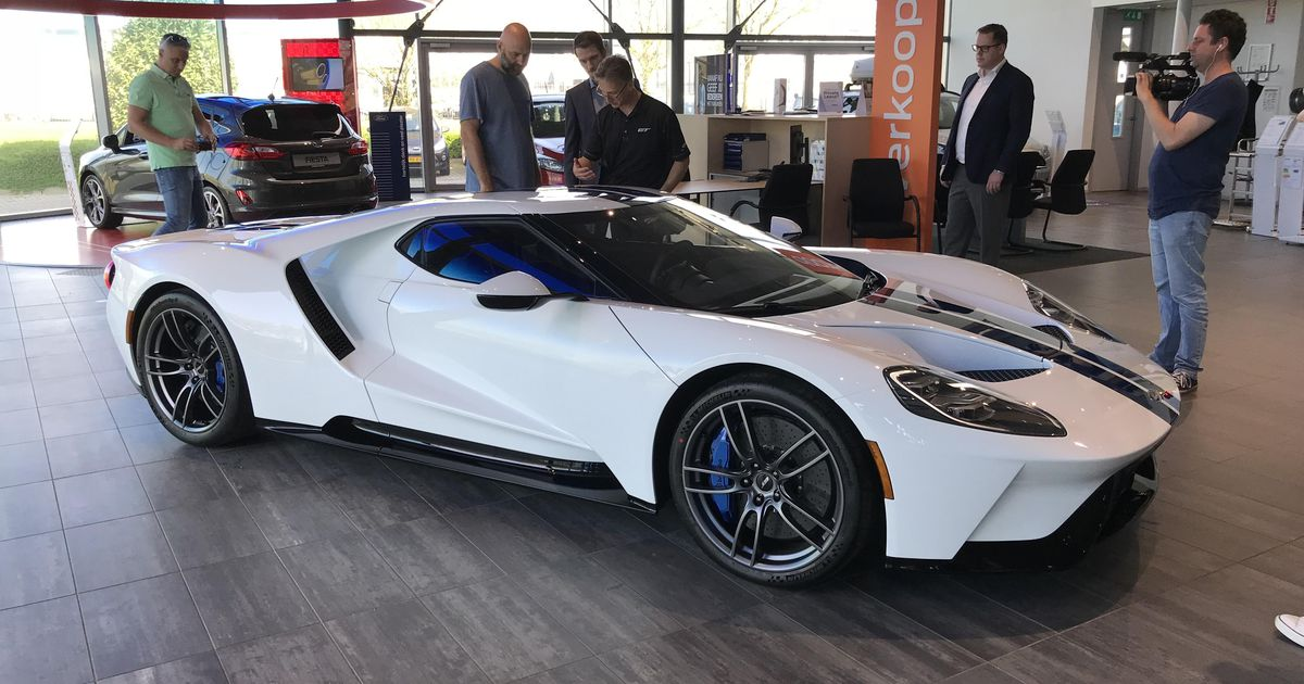 Ford Gt Of Afrojack Has Arrived In The Netherlands News