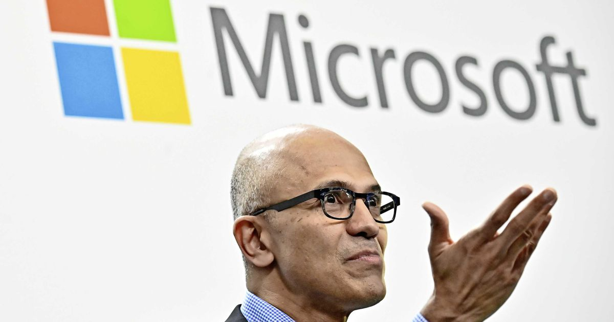 Microsoft even door grens $1000 miljard