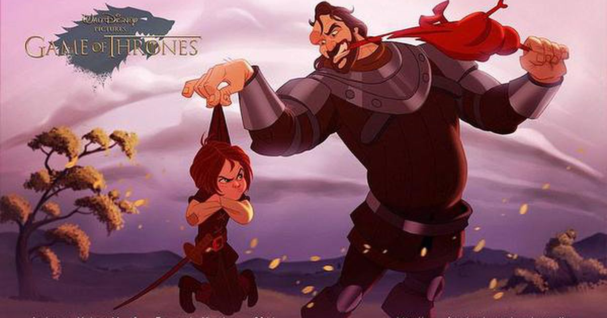 Game of Thrones in Disney-stijl