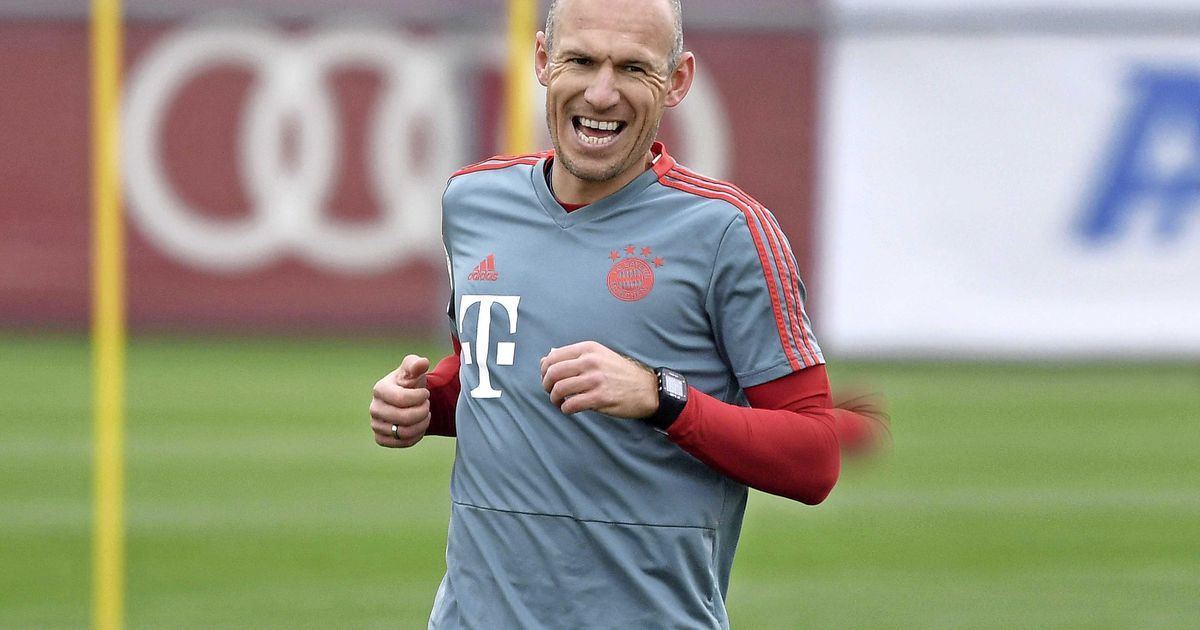 Bayern: 'Robben is back!'