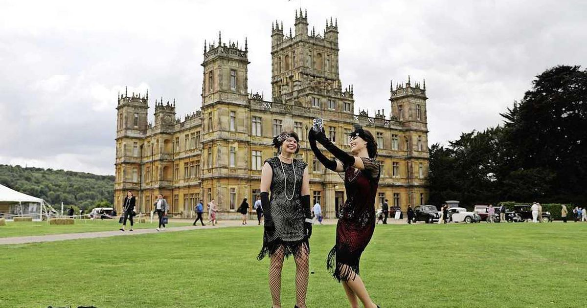 Downton Abbey als Airbnb