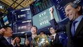 Shaoyong Cheng, topman van X Financial, luidde in september de bel bij beursnotering aan de New York Stock Exchange.