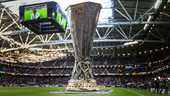 De Europa League-trofee
