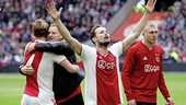Daley Blind viert de landstitel.