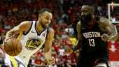 Curry in duel met Harden.