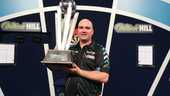 Rob Cross is wereldkampioen.