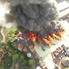 Grote brand in Duits pretpark Europapark