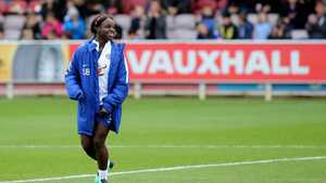 Engels international Eniola Aluko.