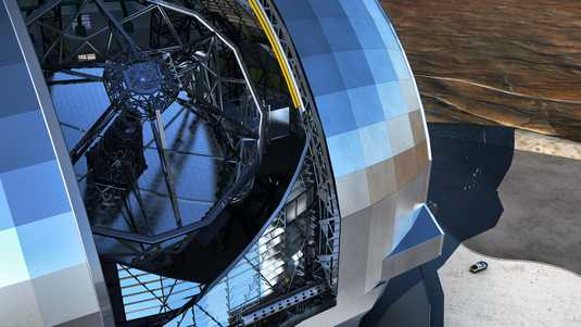 De European Extremely Large Telescope (E-ELT).