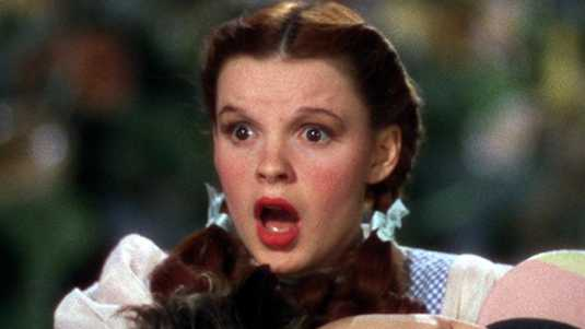 Judy Garland speelde in 1939 in de beroemde film The Wizard of Oz