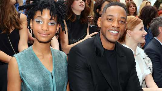 Willow Smith en Will Smith