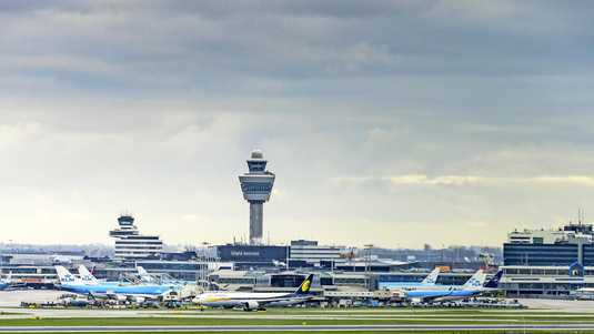 Luchthaven Schiphol.