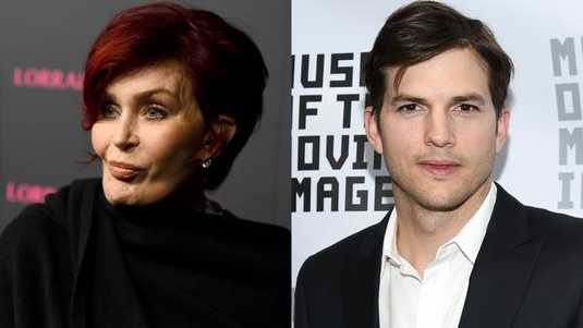 Sharon Osbourne, Ashton Kutcher