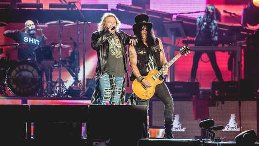Axl Rose en Slash