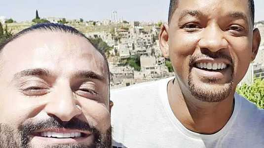 Will Smith met dj Kris Fade.