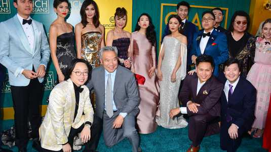 De cast van Crazy Rich Asians