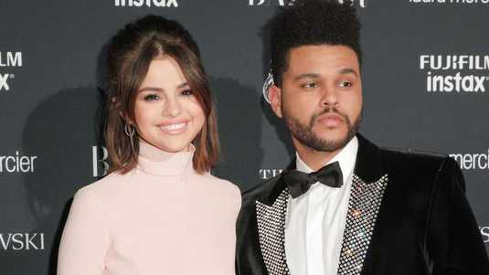 Selena Gomez en The Weeknd