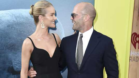 Rosie Huntington-Whiteley en Jason Statham