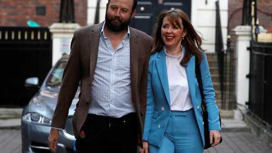 Nick Timothy and Fiona Hill.