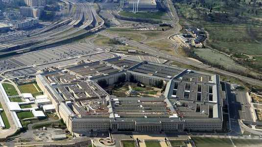 Het Pentagon in Washington, DC.