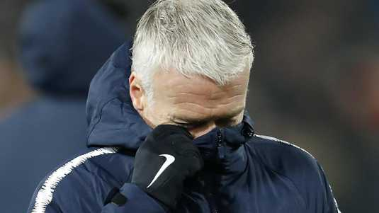 Didier Deschamps is outraged after losing 2-0 to De Quip.