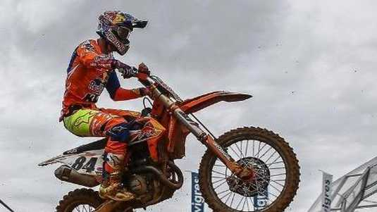 Jeffrey Herlings in actie.