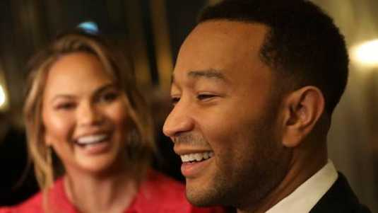 John Legend en Chrissy Teigen