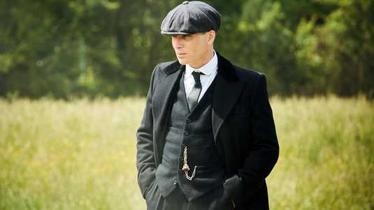 Cillian Murphy als Tommy Shelby.