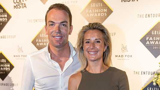 Robert Doornbos en Chantal Bles