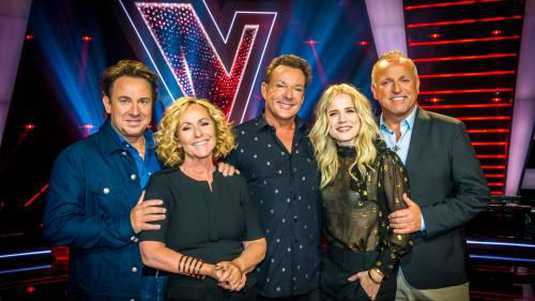 De jury van The Voice Senior