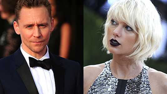 Tom Hiddleston en Taylor Swift
