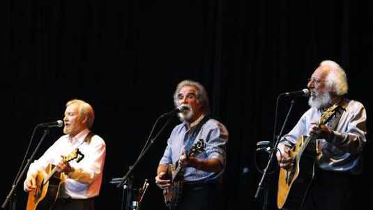The Dubliners: Sean Cannon, Patsy Watchorn en Eamonn Campbell