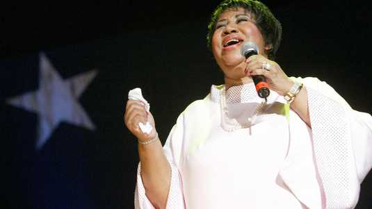 Aretha Franklin is de enige echte Queen of Soul