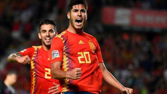 Marco Asensio is de grote man in Elche.