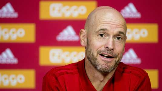 Ajax trainer Erik ten Hag