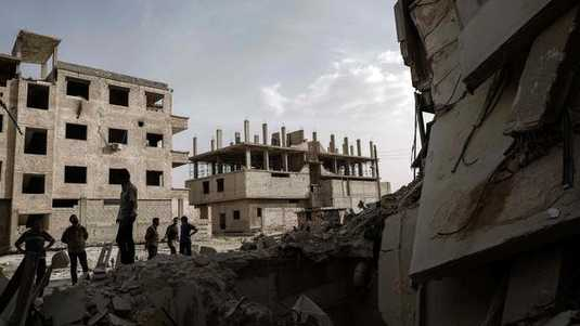 Ravage in Damascus (archief).
