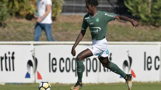 William Gomis in het shirt van AS Saint-Etienne.