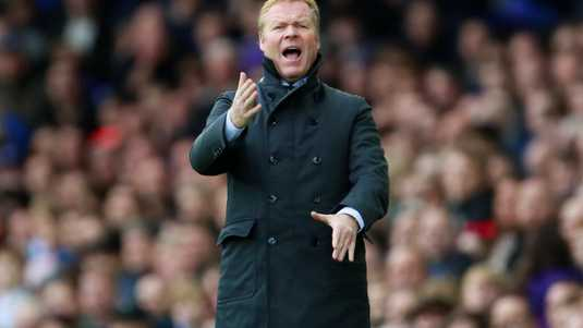 Everton-coach Ronald Koeman