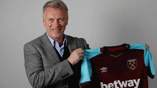 David Moyes is de nieuwe trainer van West Ham United.