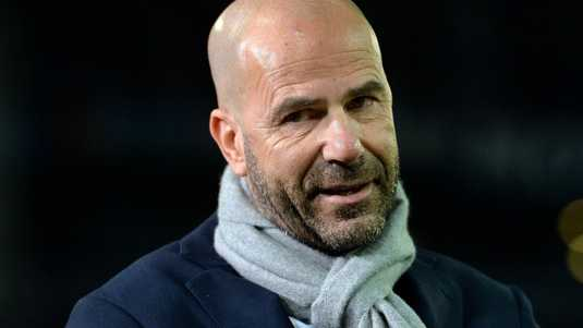 Ajax-trainer Peter Bosz.