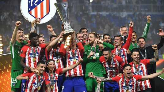 Atletico wint de Europa League