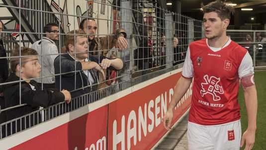 Nick Kuipers gaat met MVV als nummer 3 van de Jupiler League de winterstop in.