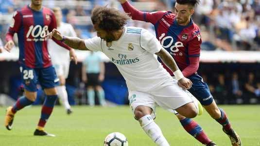 Real Madrid back Marcelo