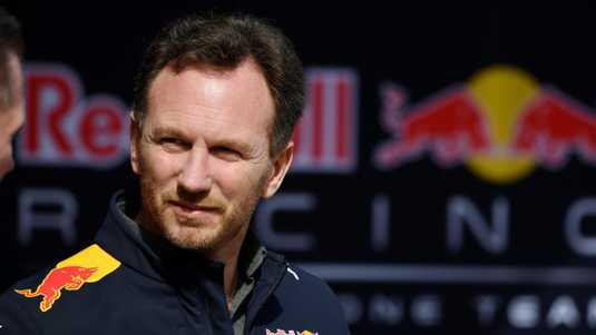 Christian Horner van Red Bull.