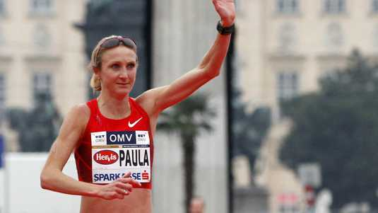 Paula Radcliffe in 2012.