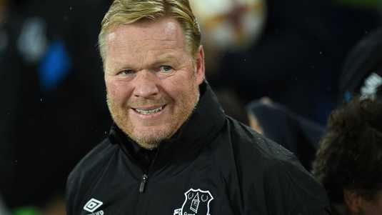Everton-trainer Ronald Koeman.