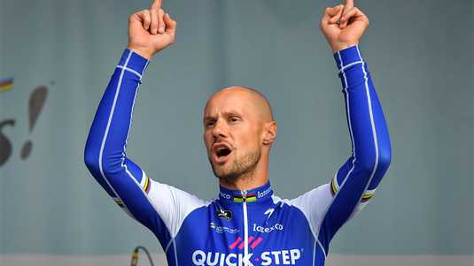 Tom Boonen, hier nog namens Quick-Step.