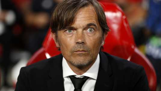 PSV-trainer Phillip Cocu.