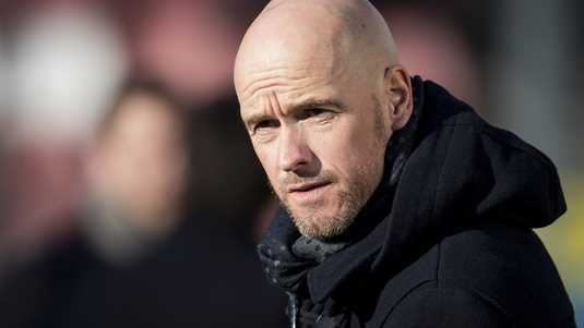 FC Utrecht-train Erik ten Hag.